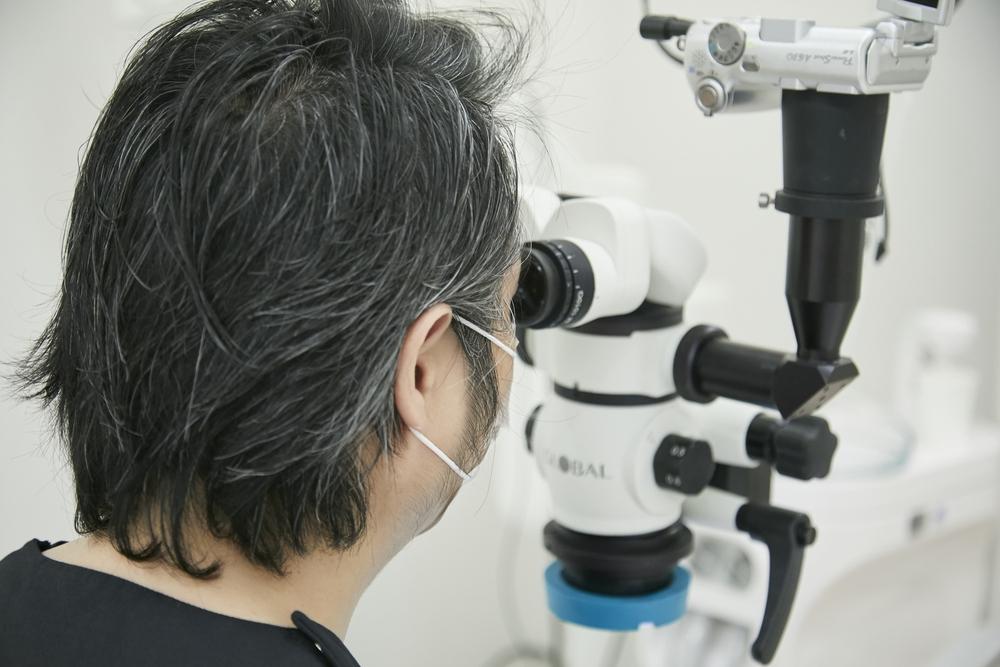 断髄法(生活歯髄切断法)